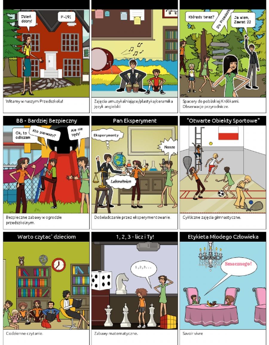 Programy realizowane przez nasze przedszkole