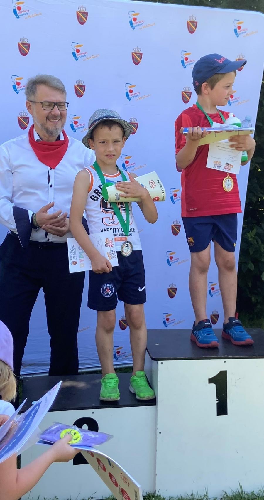 Chłopcy spisali się na medal.